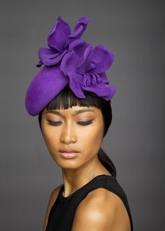 Lock & Co Hatters, Couture Millinery A/W 2014 - Vespa.