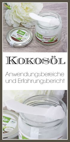 Kokosöl - Der Alleskönner Coconut oil - The all-rounder in the beauty sector: coconut oil for the hair / coconut oil for lotion / coconut oil for cooking and baking / coconut oil for the face Coconut Skin Care Cream, Skin Cream, Beauty Make Up, Diy Beauty, Cooking With Coconut Oil, The Face, Beauty Secrets, The Best, Lotion