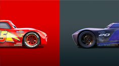 Lightning McQueen Vs Jackson Storm Cars 3 4K 8K