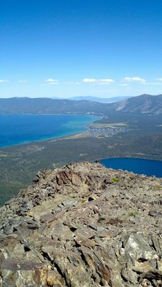 Hike Lake Tahoe's Mt. Tallac. The views are amazing! www.TahoeActivities.com