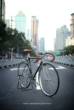 Fixie Black in Shangai
