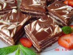 """Recipes with photos of delicious cakes. Cupcake """"Day-night"""" Cupcake """"day-night"""" breakfast afternoon snack guests Day To Make batter classic puff Czech Desserts, Sweet Desserts, Czech Recipes, Russian Recipes, Baking Recipes, Cake Recipes, Dessert Recipes, My Favorite Food, Favorite Recipes"""