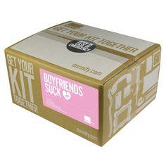 """Boyfriends Suck"" - Break Up Kit  this is genius..."