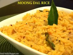 Moong Dal Rice is a one pot meal, very quick to make, yummy, nutritious and easy to digest recipe. I make this dish for lunch or dinner. You can serve with Raita or Potato fry.