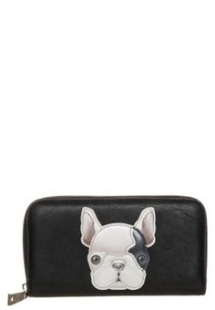 I LOVE PUPPY - Wallet - black
