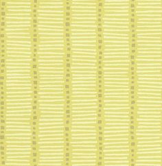 Little Greene Heath Stripe Pistachio Yellow Green Wallpaper main image