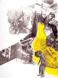 "Saatchi Art Artist Jared Plock; Printmaking, ""Marionette"" #art"