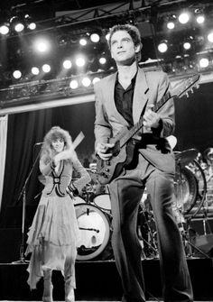 Stevie and Lindsay with Fleetwood Mac in 1979