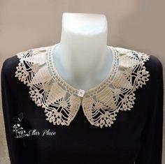 Guler Crosetat manual din macrame Invitation Ideas, Crochet Necklace, Crafty, Jewelry, Fashion, Crocheting, Tejidos, Embroidery, Moda