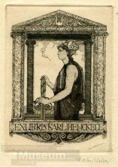 Exlibris Karl Henckell | Wilm, Hubert