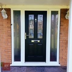 Front Doors | Front Door Ideas | Black Front Doors | Composite Front Doors | Rockdoor | Modern Front Doors | Rockdoors | Home Decor | Home Decor Ideas