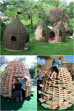 untraditional playhouses