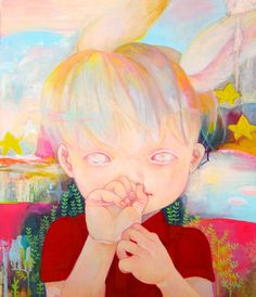 "Disappearance,Afterimage1  ""2011 530mm×455mm oil on canvas"""