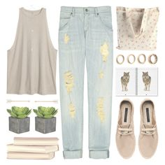 """""""Untitled #880"""" by chantellehofland ❤ liked on Polyvore featuring Zara, Citizens of Humanity, GUESS, Behance and Forever 21"""