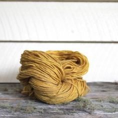 Harvest Wool - Camomile dyed from pomegranate rind