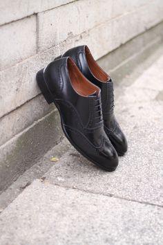 4b35010b1 Sapato Social Masculino Oxford CNS Andrew 02 em Couro preto com sola de  couro e forro em couro. #cns #cnsmais #sapato #social #oxford #brogue  #menshoes ...