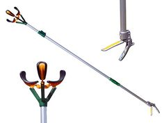 Zenport ZL6146A-8PK 6-ft. Telescopic Fruit Picker Long Reach Fruit Harvester, Box of 8. The Box of 8 professional telescopic fruit picker features a soft TPR grip aluminum handle with safety. Three bruise free soft rubber padded fingers keep each piece of fruit safe from damage. Just hold the fruit and twist the harvester making picking fruit easy and fun. Harvest your entire crop without having to get the ladder. Features a 3-position telescopic pole which extends from 44 in. 56 in. and…