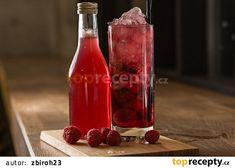 Malinový sirup recept - TopRecepty.cz Hot Sauce Bottles, Food And Drink, Drinks, Syrup, Drinking, Beverages, Drink, Beverage