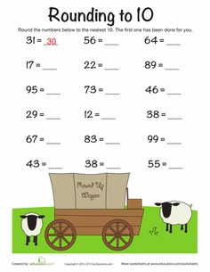 Time for a numbers round-up! Rounding and estimation are important math concepts that will help boost your child& mental math skills. 3rd Grade Math Worksheets, Free Math Worksheets, Math Tutor, Math Resources, Teaching Math, Rounding Activities, Teaching Time, Teaching Spanish, Math Games