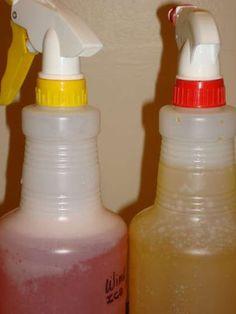 Homemade de-icer and ice prevention sprays