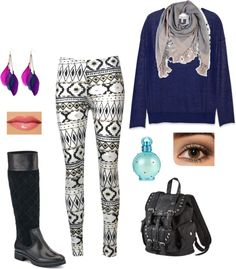 """""""Crazy Pant Day"""" by bperra on Polyvore"""
