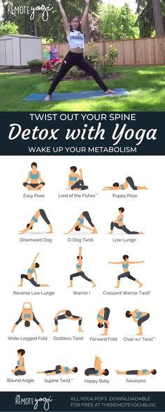 Yoga Routine, Hata Yoga, Twist Yoga, Yoga Detox, Relaxing Yoga, Yoga Moves, Yoga For Weight Loss, Yin Yoga, Yoga Sequences