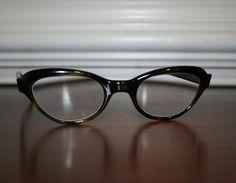 Vintage Tortoise Shell Cats Eye Glasses / Bakelite Eyewear / Liberty