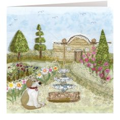 HD12 Summer Garden - Handmade Cards from Abigail Mill Embroidery