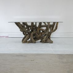 Beautiful Driftwood Base Tables On Pinterest Safety Glass Driftwood