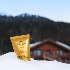 Crème Fondante Visage SPF 50 NUXE Sun #NUXE #NuxeSun #Sun #Soleil #Montagne #Ski #Beauty