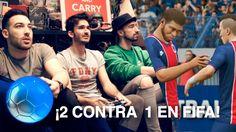 ¡2 CONTRA 1 EN FIFA! Jugando con el peor equipo de FUT