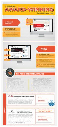 How to Make Your #LinkedIn Company Page Award Worthy #INFOGRAPHIC