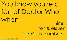 Those are the names I use for them when trying to get a point across to someone who does not watch Doctor Who