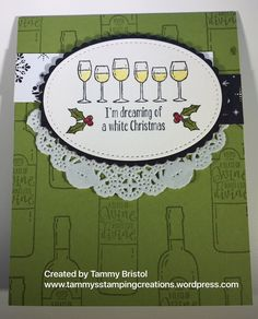 Tammy's Stamping Creations Stampin' Up! Half Full 2017 Holiday Catalog