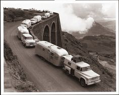 """Traversing the mountains of Ethiopia, Wally Byam saw an Airstream as """"the equivalent of a Hilton Hotel room,"""" according to former Airstream president, Andy Charles."""