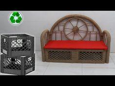 Jute Crafts, Sisal, The Creator, Craft Ideas, Table, Youtube, Furniture, Home Decor, Jute