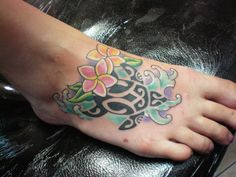 turtle hibiscus tattoo - Yahoo Image Search Results