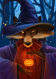 The Fox that turns into a human in a holiday night.