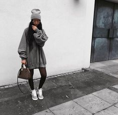 Hijab fashion, fashion news, women's fashion, fashion outfits, urban . Edgy Outfits, Mode Outfits, Grunge Outfits, Winter Outfits, Fashion Outfits, Hijab Fashion, Tomboy Fashion, Look Fashion, Teen Fashion