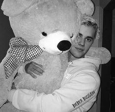 My teddy holding a teddy..