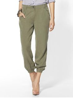 Hive & Honey Military Twill Slouchy Pant | Piperlime