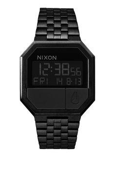 Nixon Re-Run Watch - Black