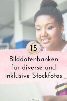 """Sieh dich mal in diesen 15 Bilddatenbanken für """"Diversity-Fotos"""" um! Hier kannst du inklusivere Bilder kostenlos herunterladen oder kaufen. Business Coach, Videos, Landing, Product Launch, Challenges, Marketing, Pictures, Helpful Tips, Thoughts"""