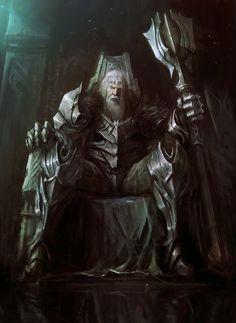Old King by Tris Baybayan | Fantasy | 2D | CGSociety