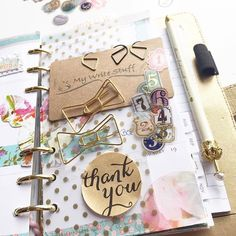 Love this cute stuff from @mywritestuff #planner #paperclip #stickers #websterspages #colorcrush #filofax #projectlife #crownpen #etsyshop #etsy #washitape #washi #bow #planneraddict