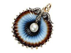 Victorian Jewelry, Antique Jewelry, Vintage Jewelry, Art Nouveau, Art Deco, Pearl Brooch, High Jewelry, Jewelry Art, Pearl Pendant