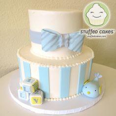 Baby Bird Shower cake StuffedCakes.com | Custom Cakes & Cupcakes Seattle, WA, USA