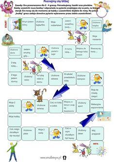 Emocje - zabawa z wykorzystaniem wieży Jenga. Child Development Psychology, Games For Kids, Activities For Kids, Polish Language, English Games, Teachers Corner, Home Daycare, Maila, Education Humor