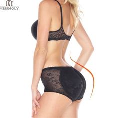 c385cab6ae8fa Miss Moly Butt Lifter Padded Panty Lace Side Hip Enhancer Body Shaper Women Underwear  Waist Trainer Shapewear Cincher Tummy Sexy