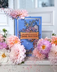 Complete works of Jane Austen published by Canterbury Classics Shabby Chic Furniture, Shabby Chic Decor, Canterbury Classics, Books To Read, My Books, Purple Books, Historical Fiction Books, Purple Aesthetic, Book Of Life